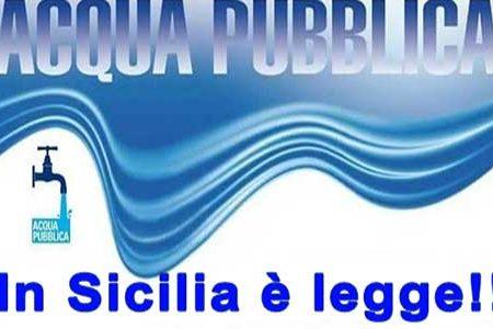 La Sicilia ha la legge sull'acqua pubblica: l'assemblea regionale ha approvato la riforma