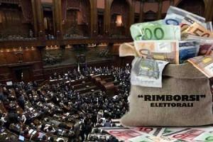Approvata ieri dal Governo la legge che permette ai partiti di incassare i rimborsi elettorali  senza controlli sui bilanci e senza rendiconti delle spese