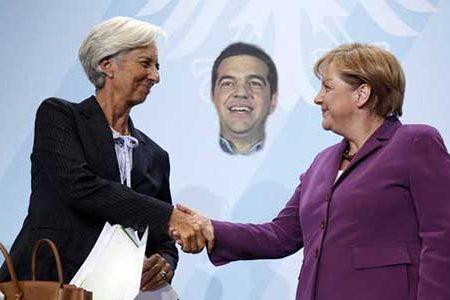 """GRECIA: Tsipras, vittoria di """"Pirro"""" con il volto della Merkel e della Lagarde"""