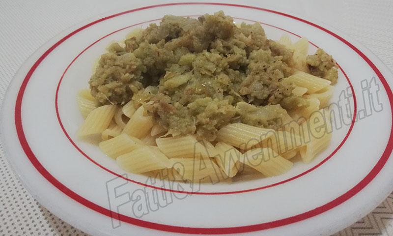 Pasta u201cncaciatau201d con cavolfiore ricetta siciliana fatti