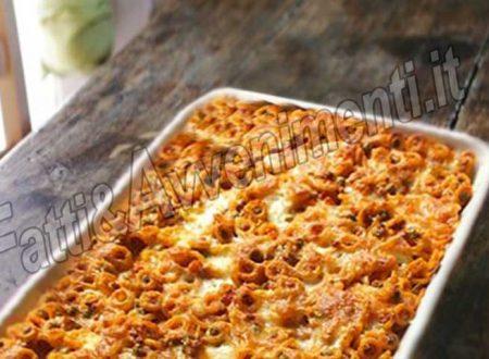 Anelletti al forno – Ricetta siciliana