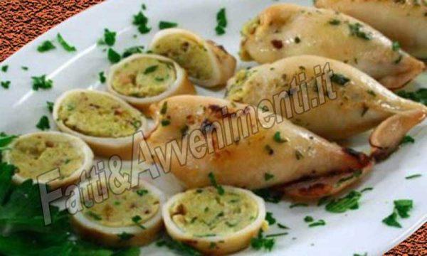 Calamari ripieni al forno – Ricetta Siciliana