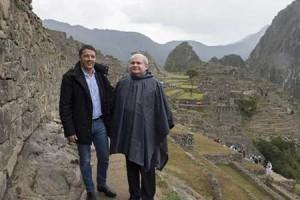 Renzi in gita a Machu Picchu… a spese nostre