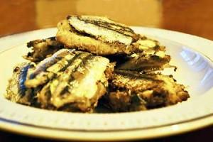 Sarde a sandwich (variante di sarde a beccafico)