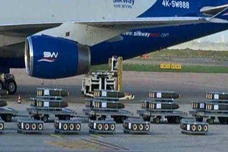Carico di bombe italiane vendute all'Arabia Saudita