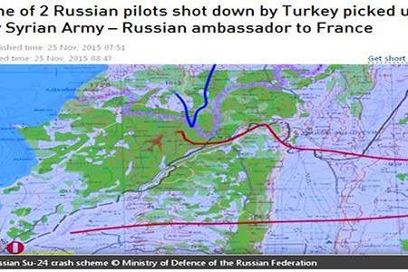 Salvato dall'esercito siriano il secondo pilota del caccia russo abbattuto…