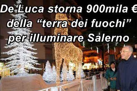 Vincenzo De Luca: m'illumino d'immenso
