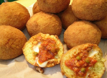 Arancine siciliane: la ricetta