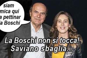 """Bersani e l'opposizione """"farsa""""… la Boschi non si tocca!"""