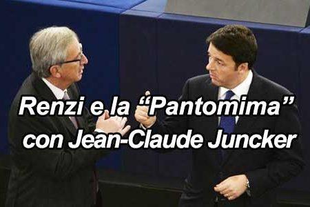 "Renzi e la ""Pantomima"" contro Bruxelles"