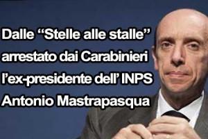 Arrestato l'ex pres. dell' INPS Mastrapasqua