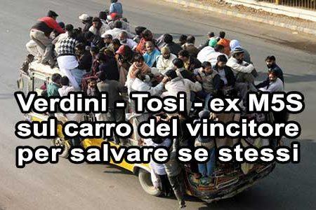 La nuova maggioranza di Renzi: tutti sul carro del vincitore
