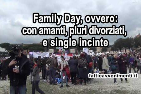 """Family Day: i """"diversamenti corretti"""""""