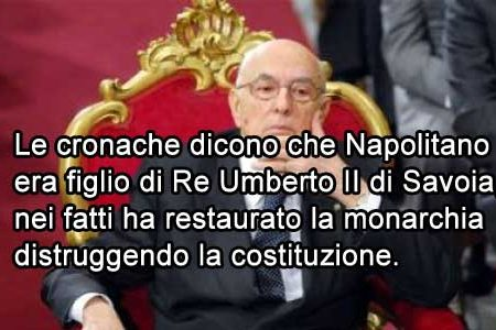"""Re Giorgio: un """"monarchico"""" finto comunista"""