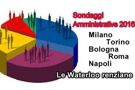 Milano, Torino, Bologna, Roma e Napoli: le Waterloo di Renzi