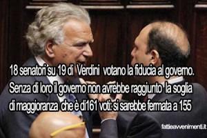 """Il giorno dei verdiniani al governo e Alfano """"gongola"""""""