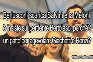 Berlusconi molla Salvini: e se fosse una strategia per aiutare il PD?