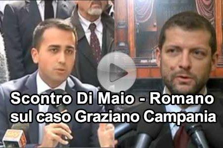 """Di Maio sul caso Graziano: """"Purtroppo questo rappresenta la normalità del Partito Democratico"""""""