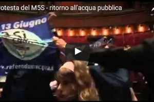 Il PD ridà l'acqua ai privati: bagarre in aula con il M5S – VIDEO