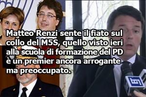 Renzi querela Grillo: mossa della disperazione?