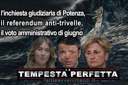 La tempesta perfetta, spazzerà via il governo Renzi?