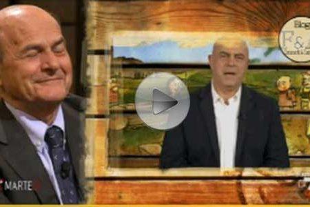 """Crozza: Bersani mi rilassa, Renzi mi fa l'effetto delle """"Fave di Fuca"""""""