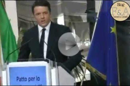 """Renzi ieri a Palermo: presenti solo le truppe """"cammellate"""""""