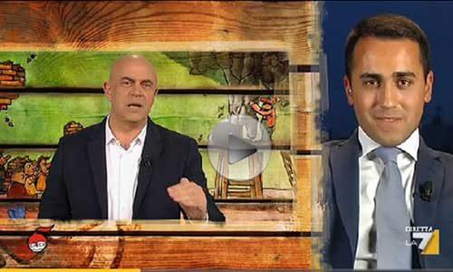 """Crozza copertina """"Di Martedì"""" 10 maggio con Luigi Di Maio – VIDEO"""