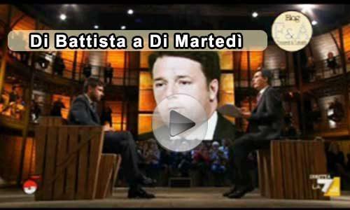 """Giovanni Floris Vs Alessandro Di Battista a """"Di martedì"""": intervista integrale"""