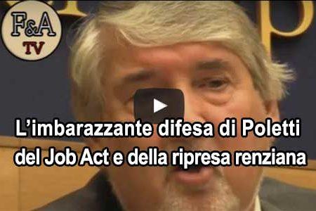 L'Istat certifica il Flop del Job Act. Crolla il fatturato dell' industria: a marzo -3,6%