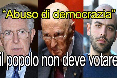 Brexit: Saviano, Napolitano e Monti, il popolo non deve votare