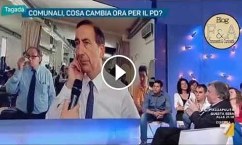 """Sala a Tagadà rinnega Renzi e… il """"gallo non aveva cantato ancora 3 volte"""" (cit. vangelo)"""