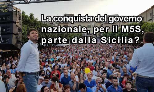 Ormai restano pochi dubbi: in Sicilia il M5S è il primo partito