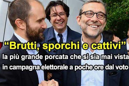 """Elezioni Roma 2016, Giachetti e PD: """"Brutti, sporchi e cattivi"""""""