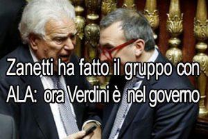 Scelta civica: Zanetti impone la sua linea pro Verdini, ma il partito è in fibrillazione