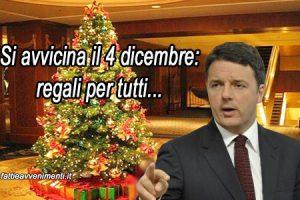 Partita la tombola elettorale, ma Renzi non mangerà il panettone