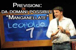 """Da domania al via la Leopolda 7: ma la questura vieta il corteo per il """"NO"""" al referendum"""