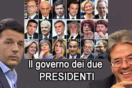 Governo Gentiloni: nato con lo scopo di umiliare la volontà degli italiani