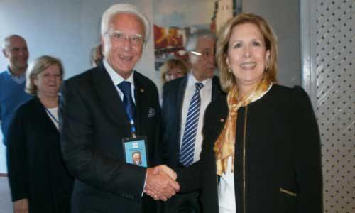 I giornalisti della Federazione Mondiale FIJET a Tunisi incontrano il ministro del turismo Salma Elloumi Rekik