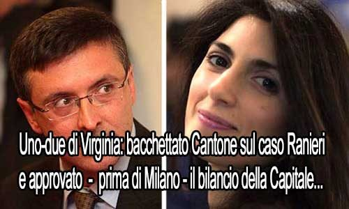 """Cantone """"bacchettato"""": legittima la nomina della Raineri e Virginia approva pure il bilancio"""