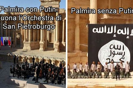 Siria. L'Isis continua a distruggere Palmira, ma il problema per l'Occidente sono Putin e Trump