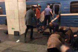 San Pietroburgo – Esplosione nel metrò