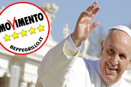 Con Papa Bergoglio la chiesa diventa a Cinque Stelle?