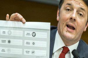Mentre le altre Nazioni votano, l'Italia è bloccata da Renzi che deve decidere quale legge gli piaccia di più