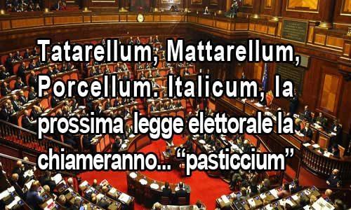 """Legge elettorale. In arrivo il """"pasticcium""""? I partiti non faranno scegliere nulla agli elettori"""