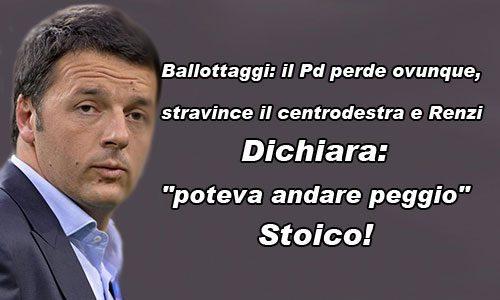 """Gli elettori del M5S – almeno chi ha votato – in gran parte ha scelto la lega e per Matteo Renzi è """"DEBACLE""""!"""