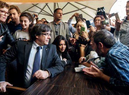 Puigdemont rinviato a giudizio in Belgio tuona: Spagna  fascista.  Rajoy: inaugurare nuova era catalana