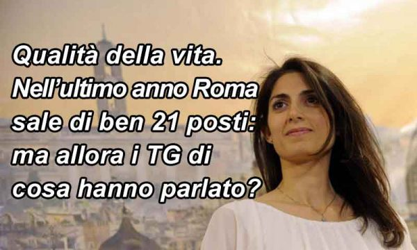 Qualità della vita. Roma sale di 21 posizioni: effetto Raggi? Bolzano si conferma la migliore, ultima Trapani