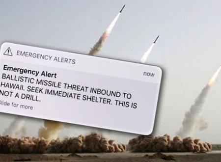 Panico alle isole Hawaii: messaggio preannuncia l'arrivo di un missile, ma era un errore
