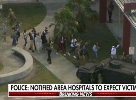 Florida: studente spara all'impazzata in una scuola: 17 i morti e oltre 20 feriti